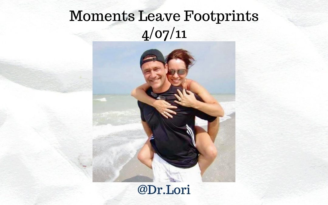 Moments Leave Footprints